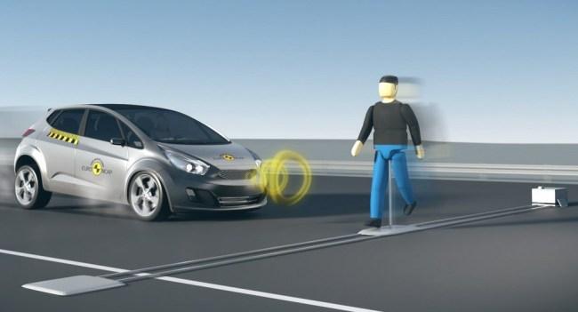 Euro NCAP Autonomous Pedestrian Detection (1)
