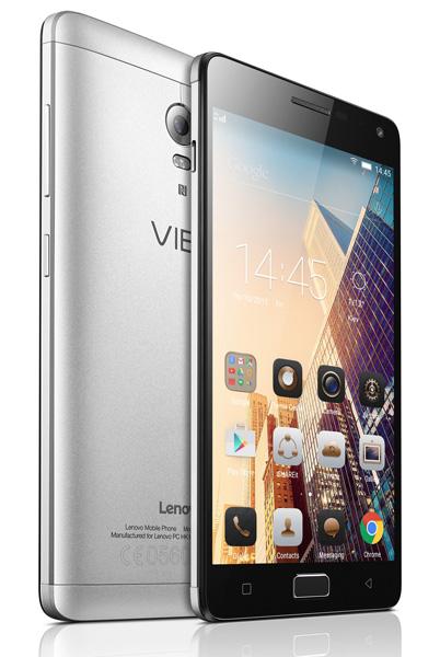 Lenovo предлагает в Украине смартфон VIBE P1 с батареей на 5000 мАч