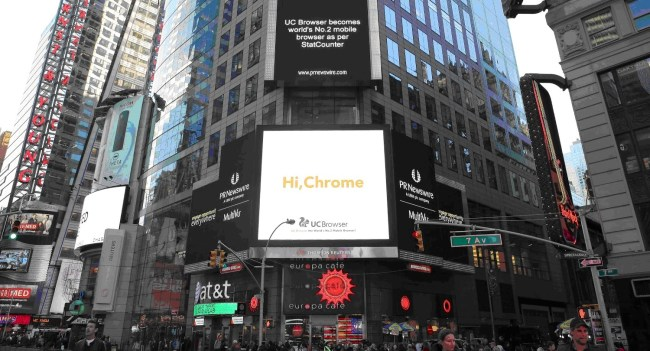 UC Browser_Times Square