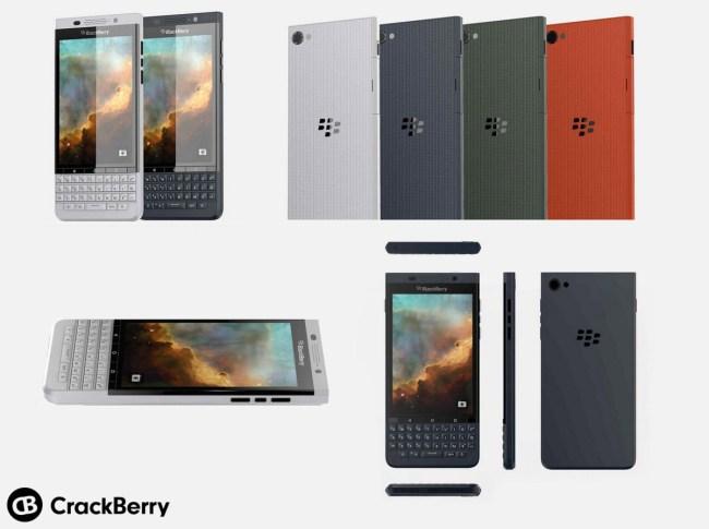 Появились изображения нового Android-смартфона BlackBerry