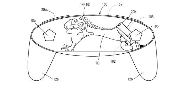 Nintendo запатентовала игровой контроллер с сенсорным дисплеем вместо привычных органов управления