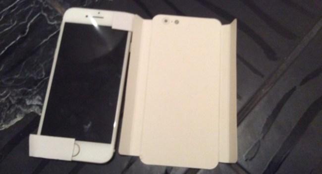 4-дюймовый iPhone засветился на видео