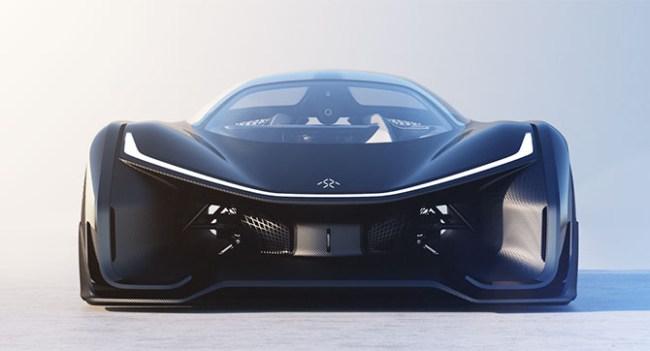 Faraday Future показала концепт своего спортивного электромобиля FFZERO1