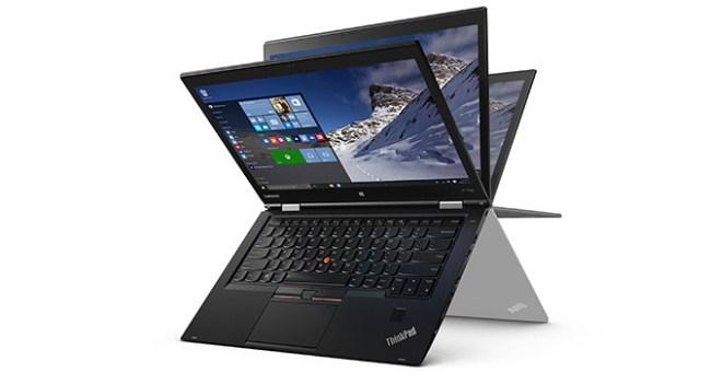 Lenovo представила на CES 2016 ноутбук-трансформер ThinkPad X1 Yoga, оснащённый OLED-дисплеем