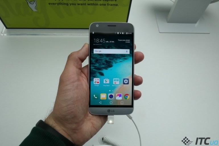 Первый взгляд на LG G5