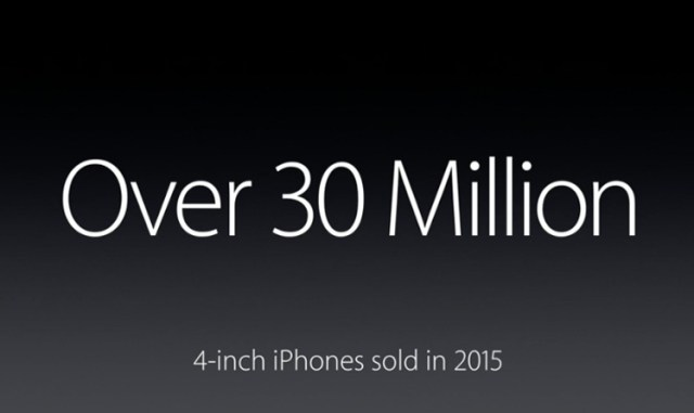 apple 30 million 4-inch iPhones
