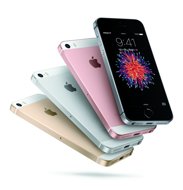 iPhoneSE - 4 Color Fan