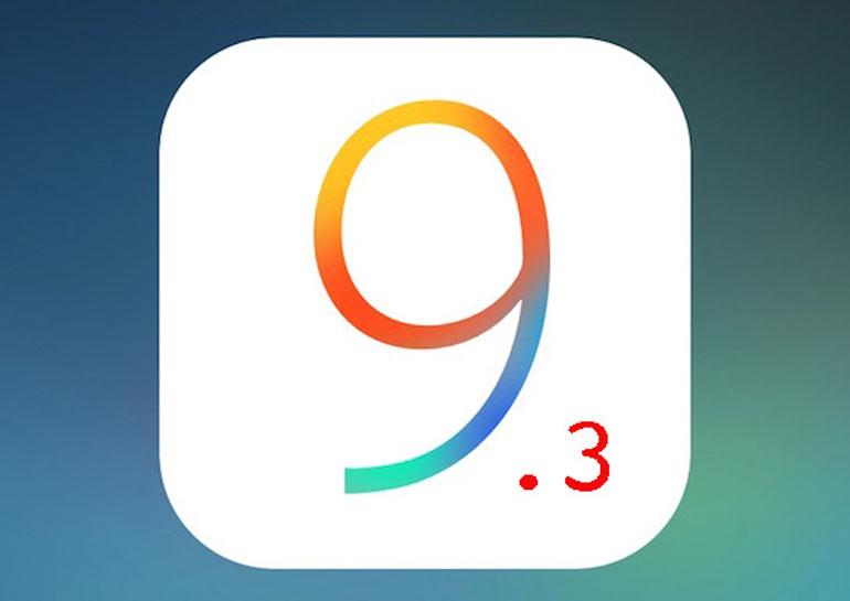 Обновление iOS 9.3 признано наиболее стабильным релизом