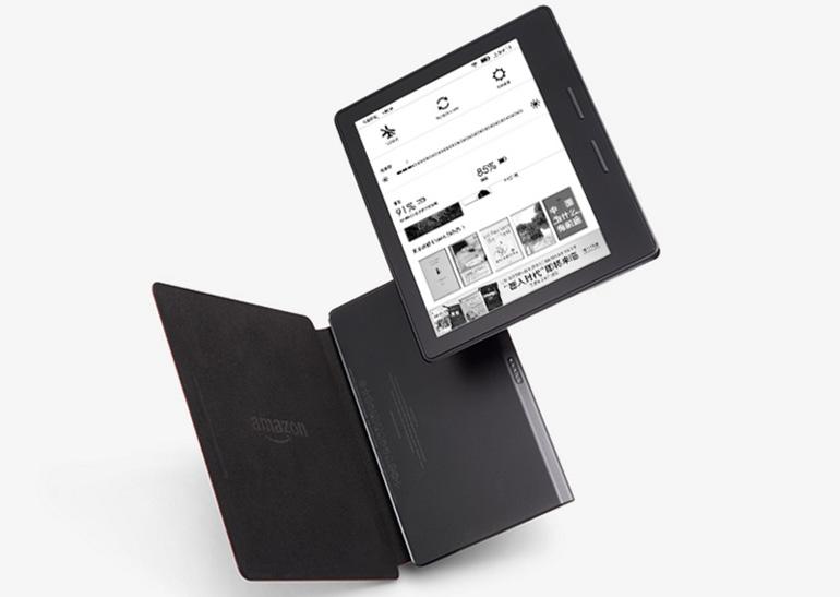 В сеть просочились сведения о новом ридере Amazon Kindle Oasis и чехле с батареей к нему