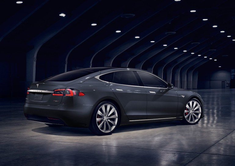 Tesla Model S 2016 Black