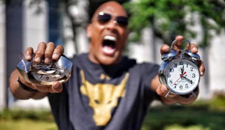 The Rock Clock – суровый будильник от Дуэйна «Скалы» Джонсона