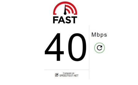 Netflix запустил простейший сайт Fast.com для тестирования скорости доступа в Интернет