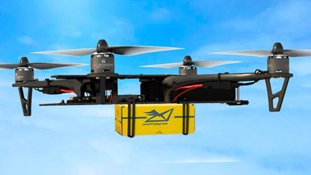 «Укрпочта» хочет запустить сервис доставки посылок дронами, первые испытания пройдут уже завтра