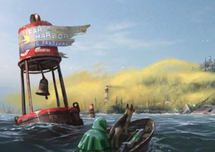Вышло очередное сюжетное дополнение Fallout 4: Far Harbor