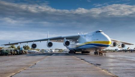 Украинский супертранспортник Ан-225 «Мрия» успешно приземлился в Австралии