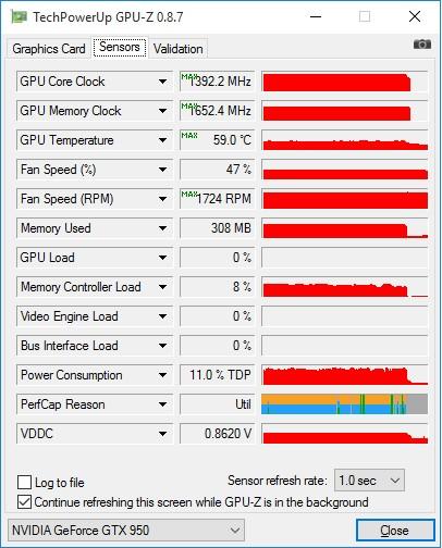 ASUS_ECHELON_GTX950_GPU-Z_nagrev