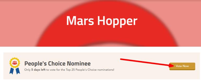 Украинская команда с проектом Mars Hopper вышла в финал в конкурсе NASA