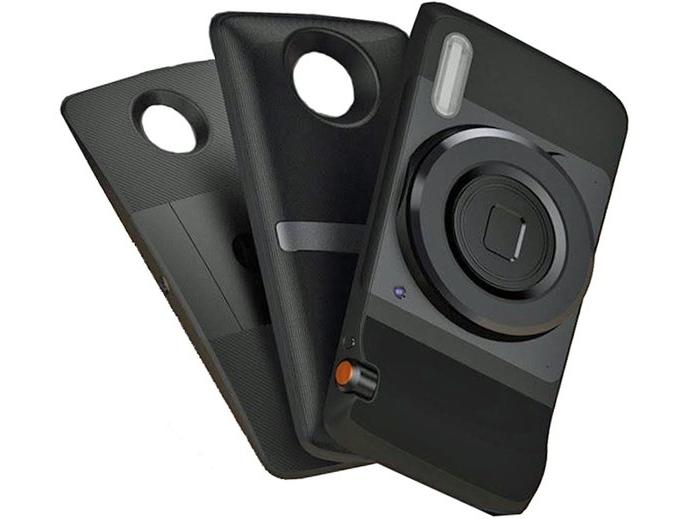 Появились изображения смартфона Moto Z (Droid) и сменных задних панелей к нему