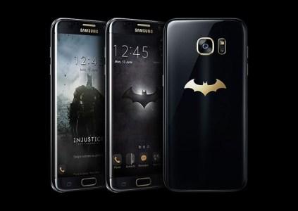Смартфон Бэтмена: Samsung представила Galaxy S7 edge Injustice Edition