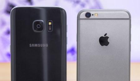 Samsung снова потеснила Apple с первого места на американском рынке смартфонов