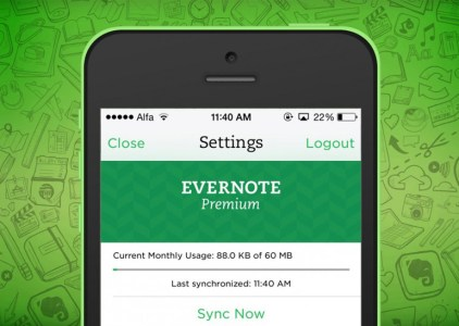 Evernote повысил тарифы и ограничил возможности бесплатного плана двумя устройствами