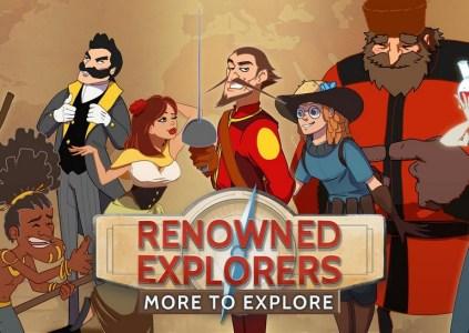 Renowned Explorers: International Society – профессор Джонс и компания