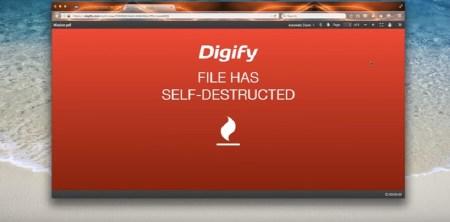 Расширение Digify for Gmail для Chrome позволяет отслеживать статус писем Gmail, возвращать их, а также делать вложения самоуничтожающимися