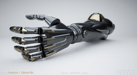Роботизированные протезы по мотивам вселенной Deus Ex появятся в следующем году