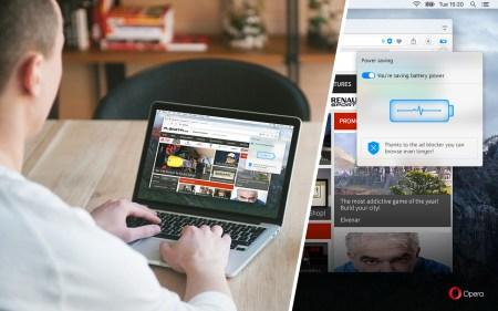 В стабильной версии Opera 38 появился режим энергосбережения, снижающий температуру ноутбука на 3 градуса