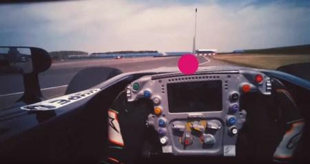 Как пилот Формула 1 видит трассу