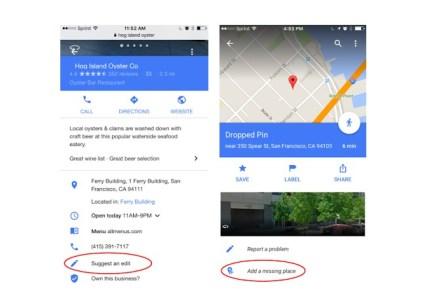 Пользователи получат право подтверждать правки в Google Maps