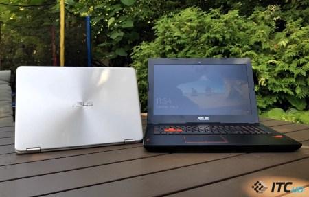 ASUS представил в Украине ноутбуки ROG Strix GL502 и ZenBook Flip UX360