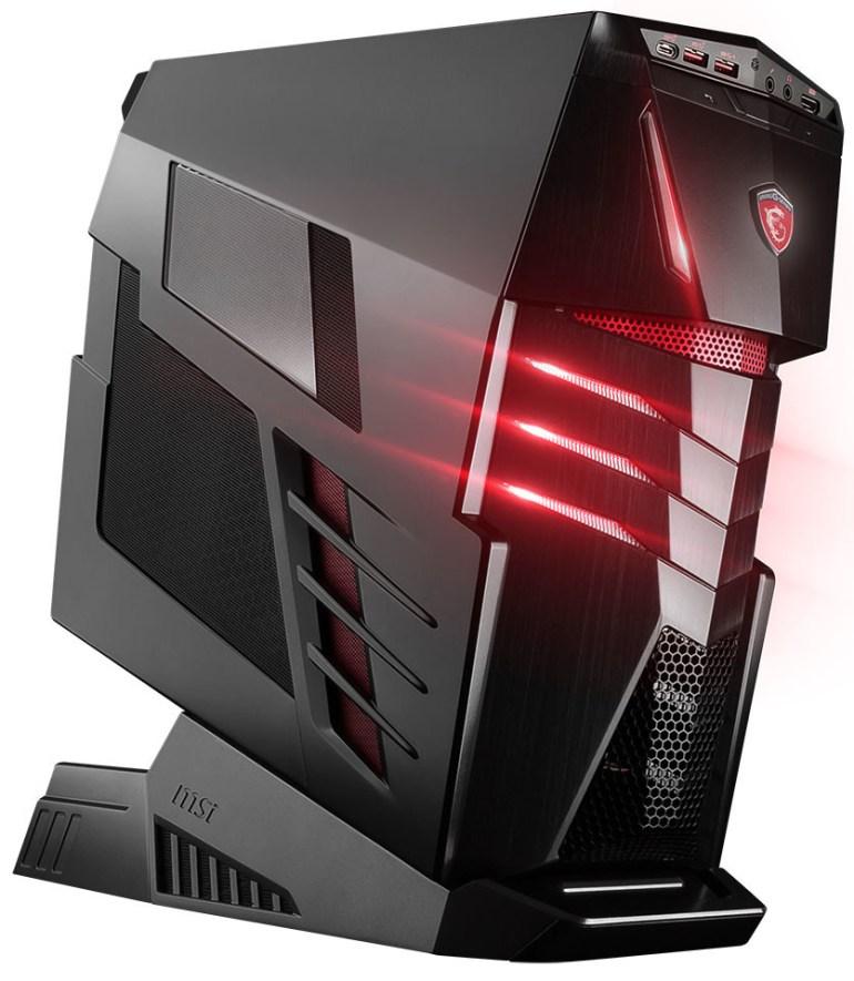 MSI анонсировала производительный игровой компьютер Aegis Ti