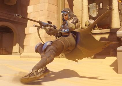 В игре Overwatch появился новый персонаж — снайпер поддержки Ана