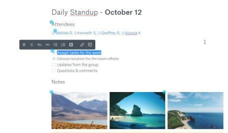 Dropbox запускает собственный сервис Paper для совместной работы над документами и задачами
