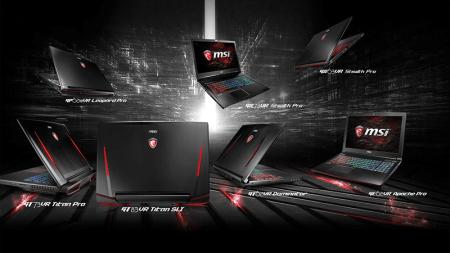 MSI первой в мире представила законченную линейку ноутбуков с графикой GeForce® GTX 10 серии