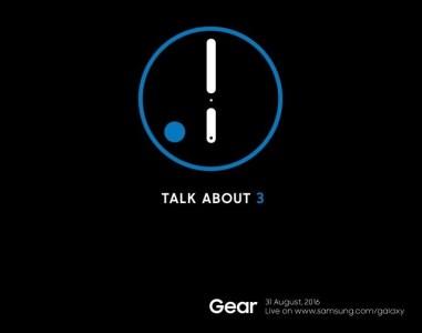 Умные часы Samsung Gear S3 будут представлены 31 августа