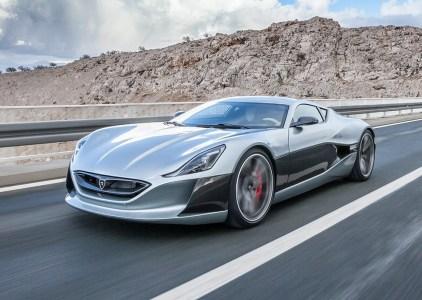 Хорватский электрический суперкар Rimac Сoncept One выиграл в дрэг-рейсинге у Tesla Model S и Ferrari LaFerrari