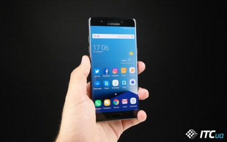 Samsung Galaxy Note7 – смартфон с самым лучшим экраном по версии DisplayMate