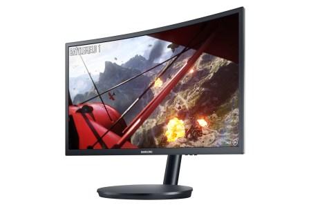 Представлены игровые мониторы Samsung CFG70 и CF791 с вогнутыми экранами на квантовых точках