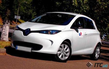 Первый Renault ZOE в Украине: $32 тыс и окупаемость через 18 лет