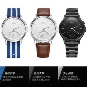 Представлены часы Meizu Light Smartwatch: традиционный дизайн, качественные материалы, функциональность фитнес-трекера и автономность в 240 дней