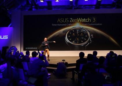 Первый взгляд на ASUS ZenWatch 3 [IFA 2016]