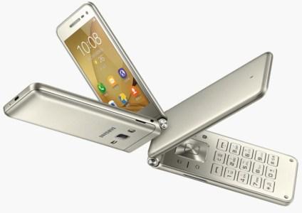 Представлен смартфон-раскладушка Samsung Galaxy Folder 2