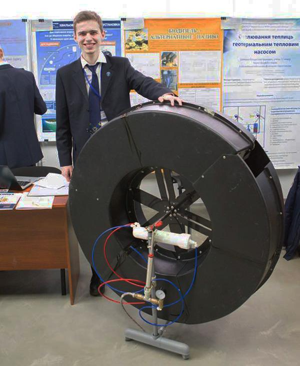 Украинский изобретатель Михаил Литовченко занимается производством промышленного образца своей волновой энергетической установки