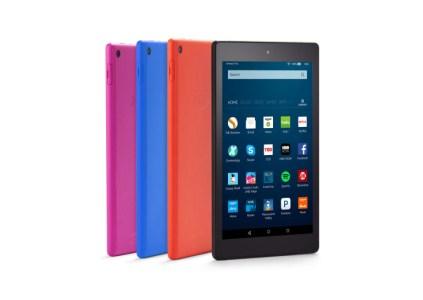 Amazon анонсировала Fire HD 8 — свой первый планшет с поддержкой голосового помощника Alexa