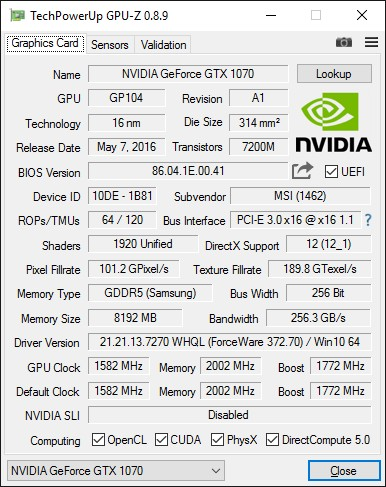 MSI_GeForce_GTX_1070_GAMING_X_8G_GPU-Z_info