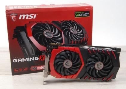 Обзор видеокарты MSI GeForce GTX 1070 GAMING X 8G