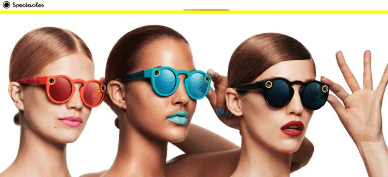 Snapchat выпустила очки Spectacles для съёмки коротких видеороликов и переименовалась в Snap Inc.