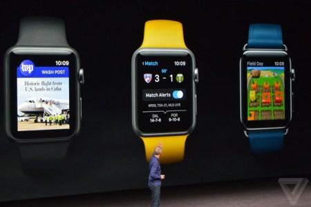 Умные часы Apple Watch Series 2 получили более мощный процессор, более яркий экран, модуль GPS и защиту от воды